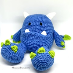 Monster, FREE DELIVERY, personalised toy, crochet toy, baby boy toy