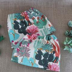 Cream Cactus Adult Sock Protectors