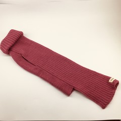 Classic Turtleneck Merino Wool Knitted Dog Jumper - Rose Pink.
