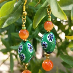 Indian end-of-day lampwork beads.