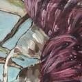 GUM BLOSSOM 2  Original Acrylic Painting