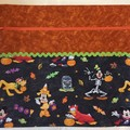 Large Project Bag with Inside Pocket  - Disney Halloween