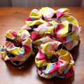 Hair Scrunchie - Soft Striped Allsorts for Ponytail & Bun