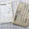 Simplicity 7980 sewing pattern, kids boutique clothing pattern, sizes 12 - 16