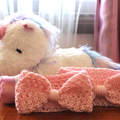 Crocheted Headband for Babies/Toddlers - Baby Pink - Handmade, Soft and Stretchy