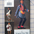 Vogue sewing pattern 9077, girls clothing and accessories sizes 12 - 14