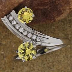 Natural Australian Yellow Sapphires Design 2970