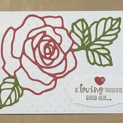 Sympathy Card - free post