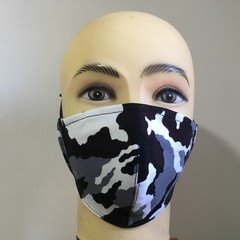 Fashion  & Reusable fitted Cotton Mask