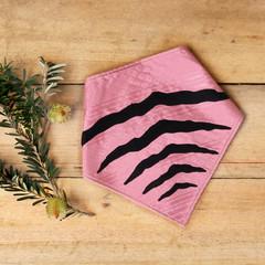 Large - Tasmanian Tiger Pet Bandana - Pink