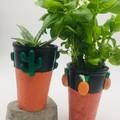 Concrete Pineapple or Cacti Vase