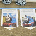Thomas and Friends Bunting Birthday Party Supplies The Tank Engine Nursery Banne
