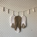 Tri-Feather Wall Hanging
