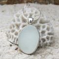 Bay Moon Sea Glass Pendant