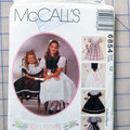 McCall's sewing pattern 6854,  girls dress pattern, size 12
