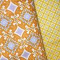 Triple Layer Face Mask - 100% cotton fabric - Sweet Orange