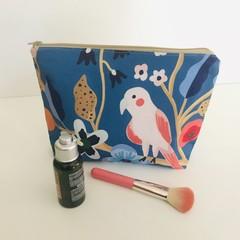Beautiful birds toiletries bag