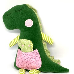 Dinosaur softie, FREE DELIVERY, baby toy, stuffed toy, stuffed animal