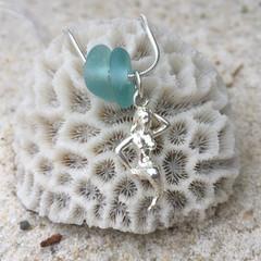 Mornington Mermaid Sea Glass Pendant