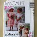McCall's sewing pattern 5827, girls dress pattern, size 6