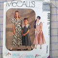 McCall's sewing pattern 6981, girls dress, sizes 10 - 14