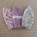 *Special * 3 beanies: (3-5yrs): Washable, girl, winter, soft