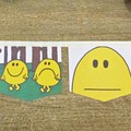 Mr Happy Bunting Mr Men Nursery Garland Birthday Party Baby Shower Homewares