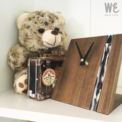 Handmade Aussie wood/Eco Resin Desk Clock | FREE SHIPPING