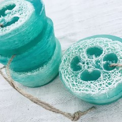Loofah Soap - Rosemary