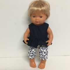 Miniland Dolls Bloomers  and Top to fit 38cm Dolls