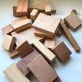 Toys of Wood Mega blocks with calico bag