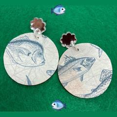 Fishy earrings