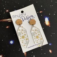 Galaxy Drop Earrings