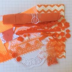 Bulk Colour kit, scrapbooking supplies, scrapbook doily, embellishments for scra