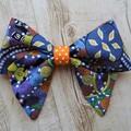 Aboriginal fabric, hair bows