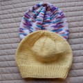 *Special * 2 beanies: (3-5yrs): Washable, girl, winter, soft