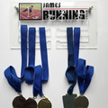 Running Sports Medal Holder, Personalised Medal Hanger Display