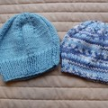 *Special * 2 beanies: (Newborn - 3 mths): Washable, boy