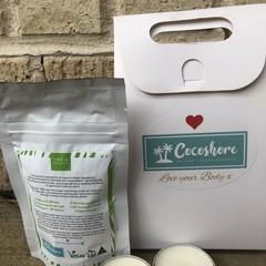 Lime and Coconut Sample Gift Box (Vegan and Organic)
