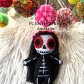 Sugar Skull Doll Day Of The Dead Doll Coco movie doll Handmade