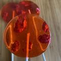Raspberry Lollipops