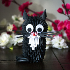 3D Origami Kitten DIY Kit