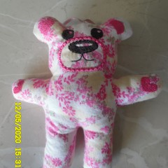 Little Teddy Pink Daisy