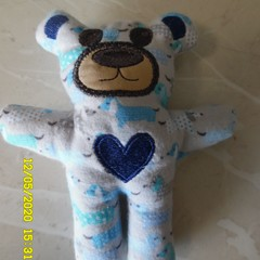 Little Teddy Blue Bear