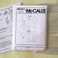 McCall's M6251, top pants and jumpsuit pattern, sizes XS - M, UNCUT