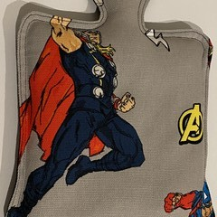 Superhero heat bag