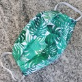 Triple Layer Face Mask - 100% cotton fabric - Jungle Fever
