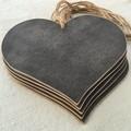 Chalkboard Heart on Jute String