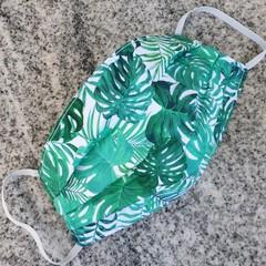 Triple Layer Face Mask - 100% cotton fabric - Jungle Fever