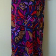 Simple A-Line ankle length dress